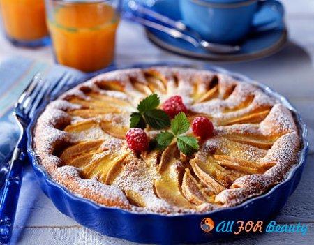 Рецепты десерта с яблоками