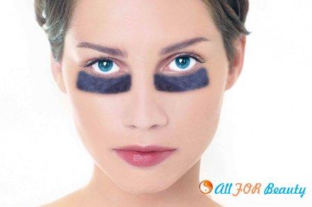 Черные круги под глазами - причины появления как убрать