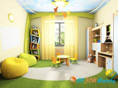 Немного о детсвой комнате