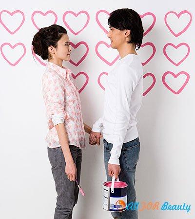 Интерьер для влюбленных: просто и романтично