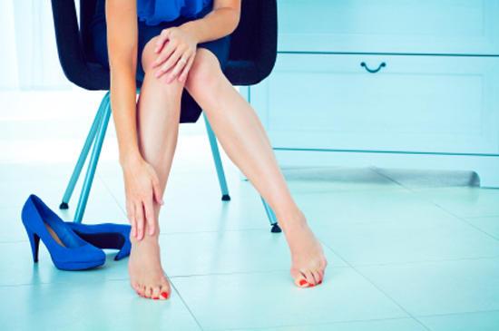 Работаю продавцом болят ноги что делать