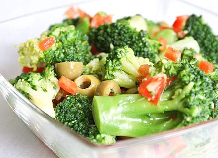 Рецепты салатов брокколи фото