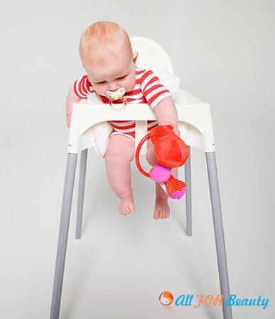 Выбираем стульчик для малыша