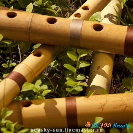Использование бамбуковых флейт
