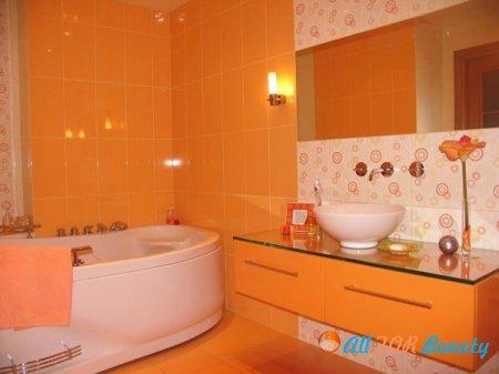 Творческий подход при обустройстве ванной комнаты