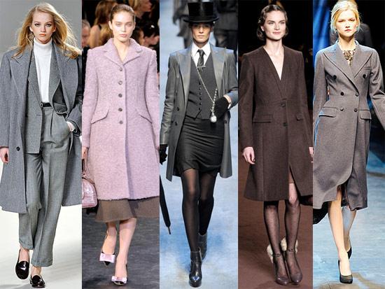 Какие пальто будут в моде осенью 2012г.?