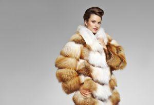 Модные лисьи шубы - 2013