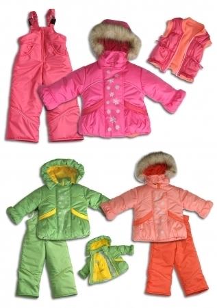 Особенности оптовых продаж детской одежды