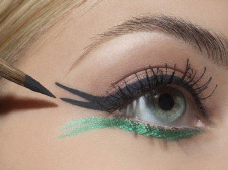 Правила нанесения макияжа для зеленых глаз