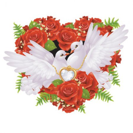 Птички в свадебном оформлении
