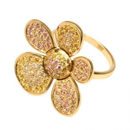 Модные золотые украшения 2013