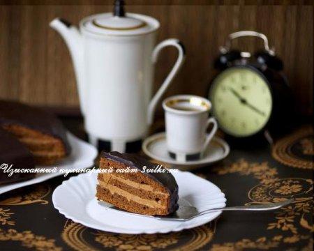 Как приготовить Пражский торт