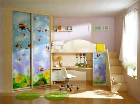 Правильная организация мебели в детской комнате