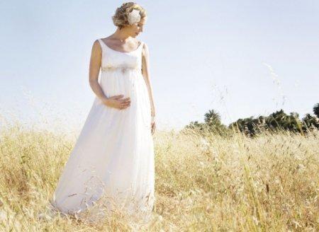 Свадебные платья для беременных