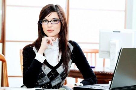 Женский стиль в офисе