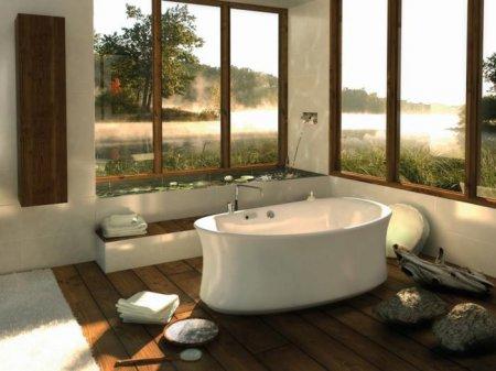 Керамическая ванна: тихо, красиво и тепло!